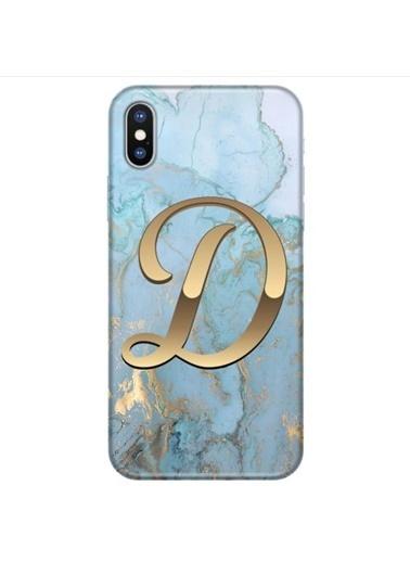People's Cover iPhone X Baskılı Harfli Telefon Kılıfı Renkli